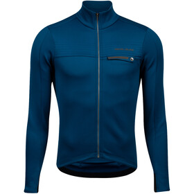PEARL iZUMi Interval Thermo Langarm Trikot Herren twilight